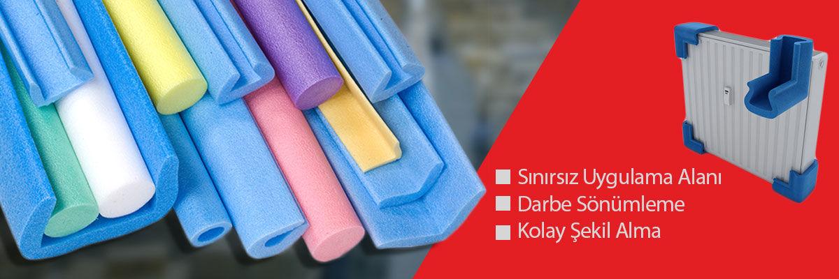 Polietilen kenar boy profilleri, malzemelerinizin taşınması esnasında kenar ve köşelerinin korunmasını sağlar.
